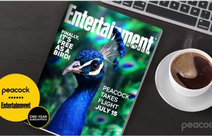PeacockTV and EW team up on immediate magazine access