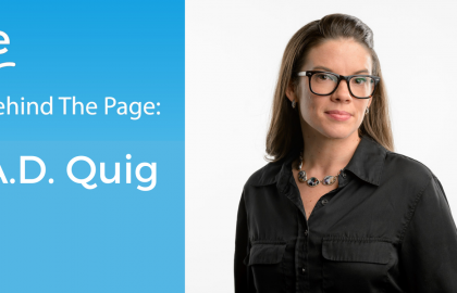 Behind the Page: A.D. Quig gets the details right