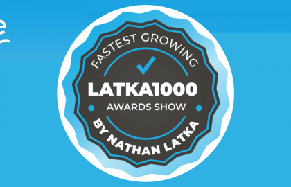 eMagazines recognized as Top Bootstrapped Company at Latka1000