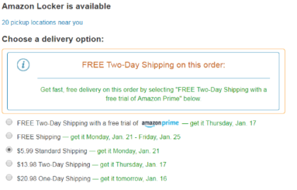 Immediate Delivery Increases Conversions up to 5%